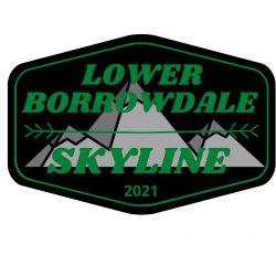 The Lower Borrowdale Skyline