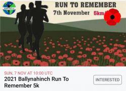 Ballynahinch 5km Run to Remember