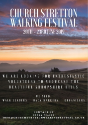 Church Stretton Walking Festival 2019